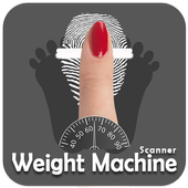 Weight Scanner with your fingerprint prank icon