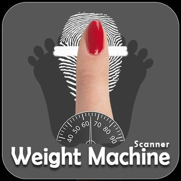 Weight Scanner with your fingerprint prank poster