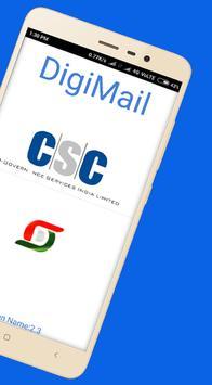DIGIMAIL : CSC E-governance screenshot 1