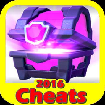 Cheats For Clash Royale poster