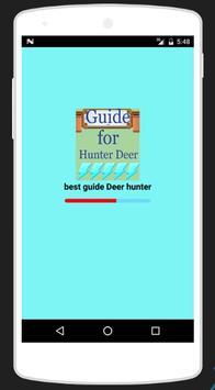 Guide for Deer hunter 2017 poster