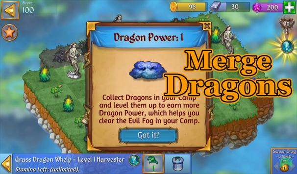 Tips For Game Merge Dragons! poster