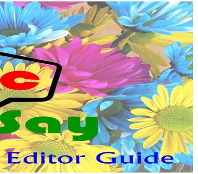 Free PicSay Photo Editor Guide screenshot 1