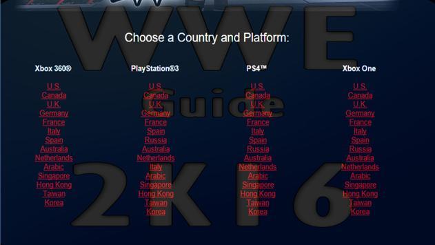 Guide for WWE 2K16 apk screenshot