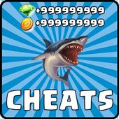 Cheats Hungry Shark Evolution icon