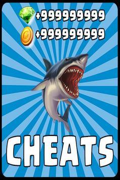 Cheats Hungry Shark Evolution poster