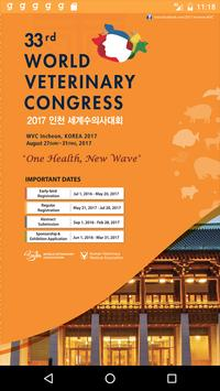 33rd World Veterinary Congress poster