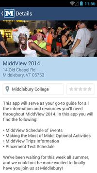 Middlebury College Guides apk screenshot