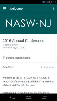 NASW NJ Conference poster