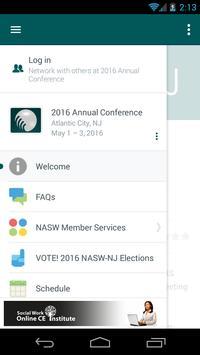 NASW NJ Conference apk screenshot