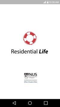 NUS Residential Life poster