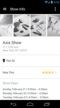 Axis Show poster