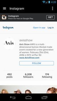 Axis Show apk screenshot