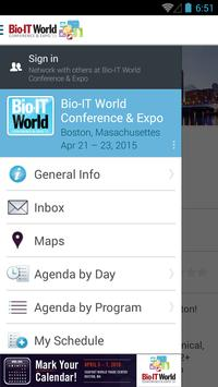 Bio-IT World Conference & Expo poster