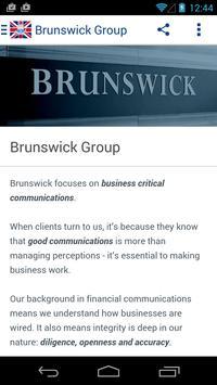 Brunswick Events poster