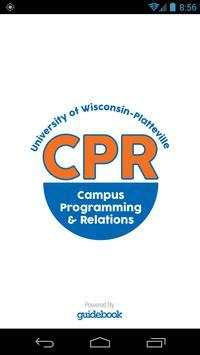 UW-Platt CPR Events poster
