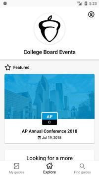 College Board Events screenshot 1