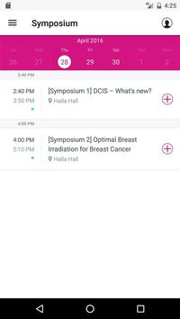 Global BreastCancer Conference apk screenshot