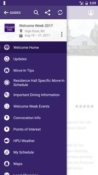High Point University Guides screenshot 2