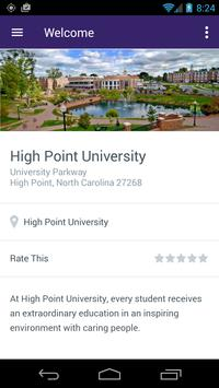 High Point University Guides apk screenshot