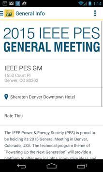 2015 IEEE PES General Meeting screenshot 1