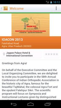 IOACON 2013 apk screenshot