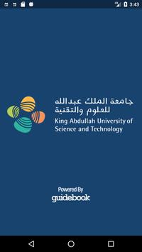 KAUST Events poster