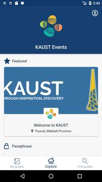 KAUST Events screenshot 1