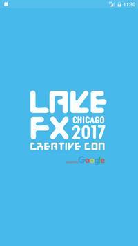 Lake FX CreativeCon 2017 poster