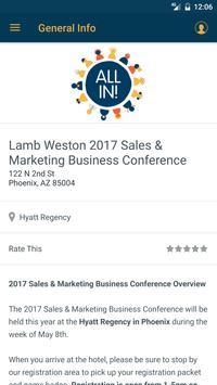 Lamb Weston apk screenshot