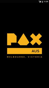 PAX Aus poster