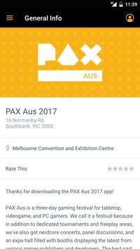 PAX Aus screenshot 1