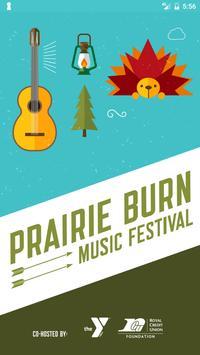 Prairie Burn 2017 poster