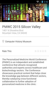Personalized Medicine World Co apk screenshot