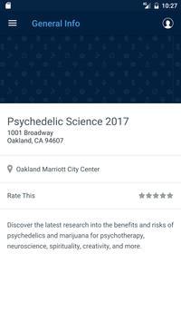 Psychedelic Science 2017 apk screenshot