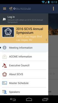 2016 SCVS Annual Symposium poster