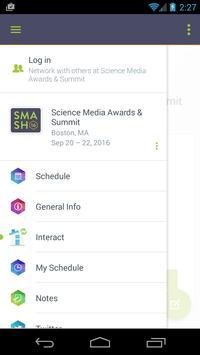 Science Media Awards & Summit apk screenshot