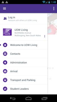 UOW Living App screenshot 1