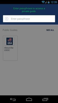 USOPF Games Hospitality Guide apk screenshot
