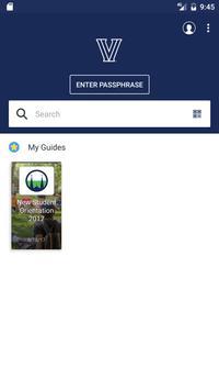 Villanova University Guides poster