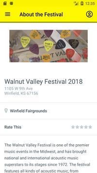 Walnut Valley Festival screenshot 1