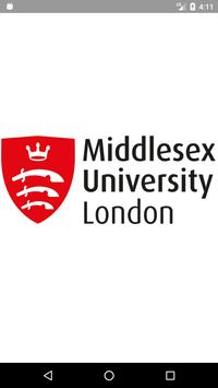 Middlesex University poster