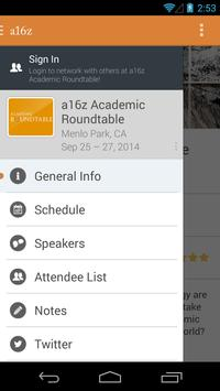 a16z Academic Roundtable 2014 apk screenshot