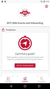 KFC UK&I Events and Onboarding screenshot 1