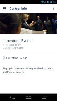 Limestone College Resources apk screenshot