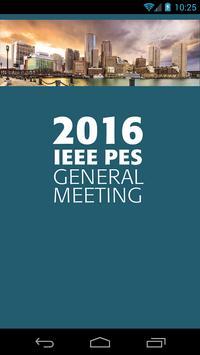 2016 IEEE PES General Meeting plakat