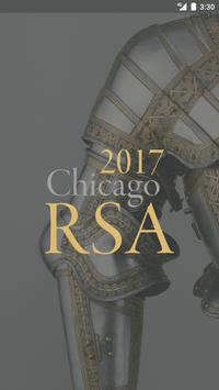 The RSA 63rd Annual Meeting poster