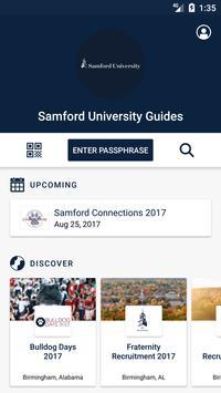 Samford University Guides poster