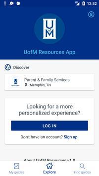 UofM Resources screenshot 1