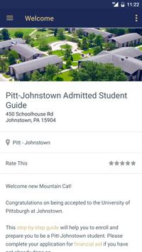 Pitt-Johnstown What's Next? screenshot 1